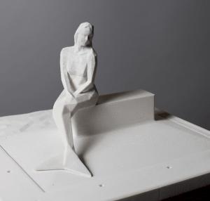 Winning Design for Luxembourg's Melusine Mermaid Sculpture