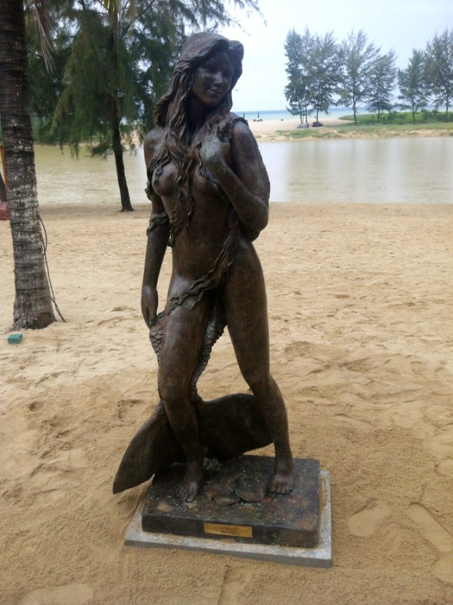 Ama Andaman Mermaid Sculpture