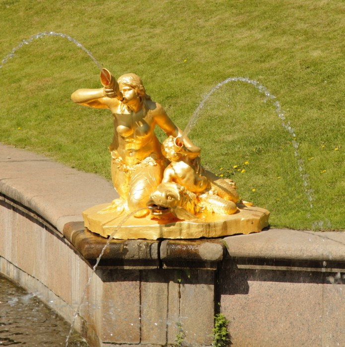 Peterhof Mermaids.  Photo by Jonathan Ho.