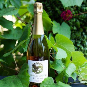 "Mermaid Winery ""Seaduxion"" Sparkling Rose"