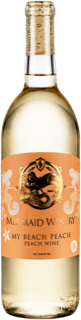 "Bottle of Mermaid Winery ""My Beach Peach"" White Wine"