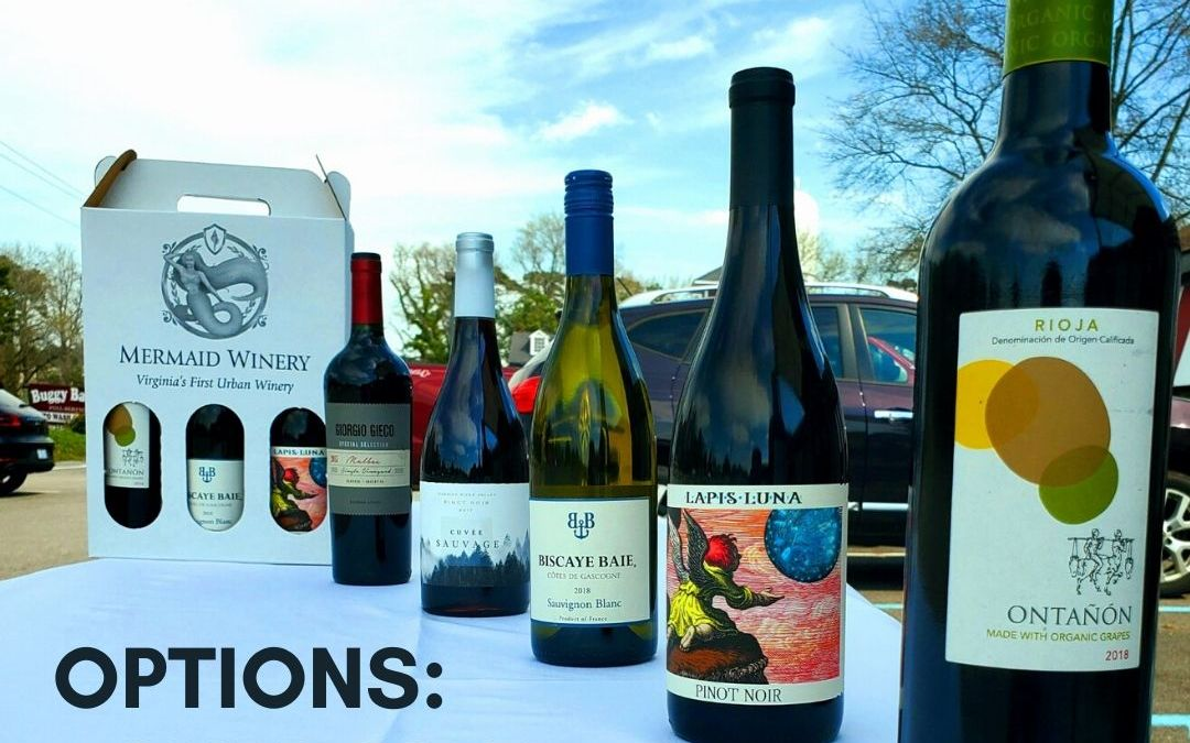 Wine Club Pick Up – Curbside & Delivery