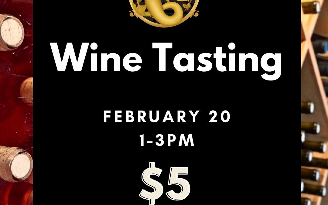 $5 Wine Tasting