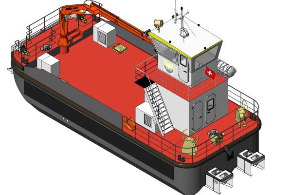 Barge multiservice SEEM 14-1200ST