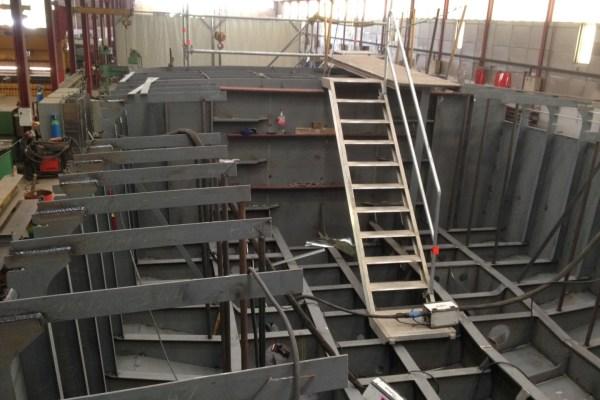 Construction d'une vedette multiservice SEEM 16-710ST