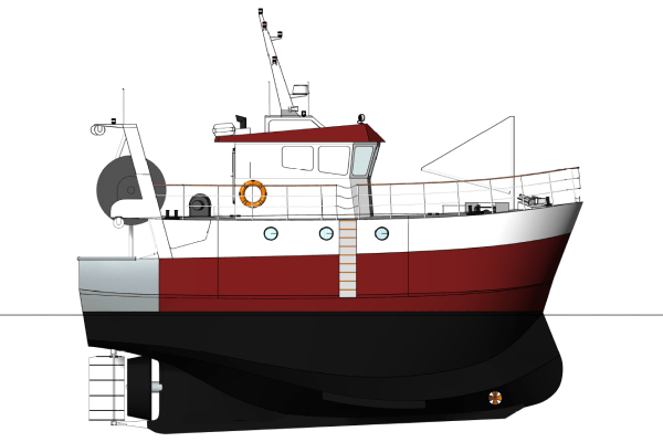 Chalutier CIB 15-260ST
