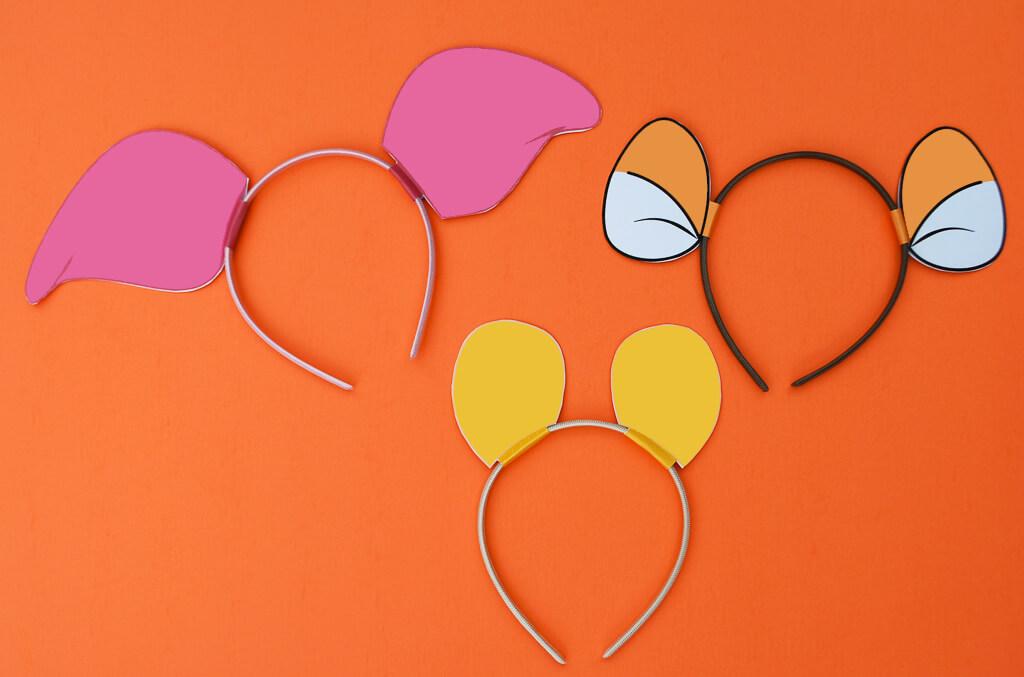 DIY Winnie The Pooh Ears Piglet Ears Tigger Ears