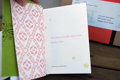 Clic Concertina Booklet Wedding Invitation
