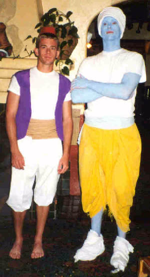 Carleen's photo of Aladdin and his Genie