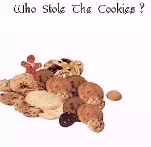 Who Stole The Cookies kids mystery