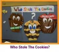 Cookies play in classroom event