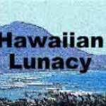 Hawaiian Lunacy luau mystery party invite