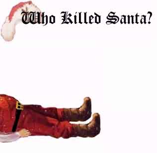 Who Killed Santa murder Christmas party pic