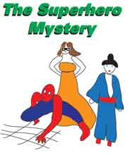 Superhero mystery party image