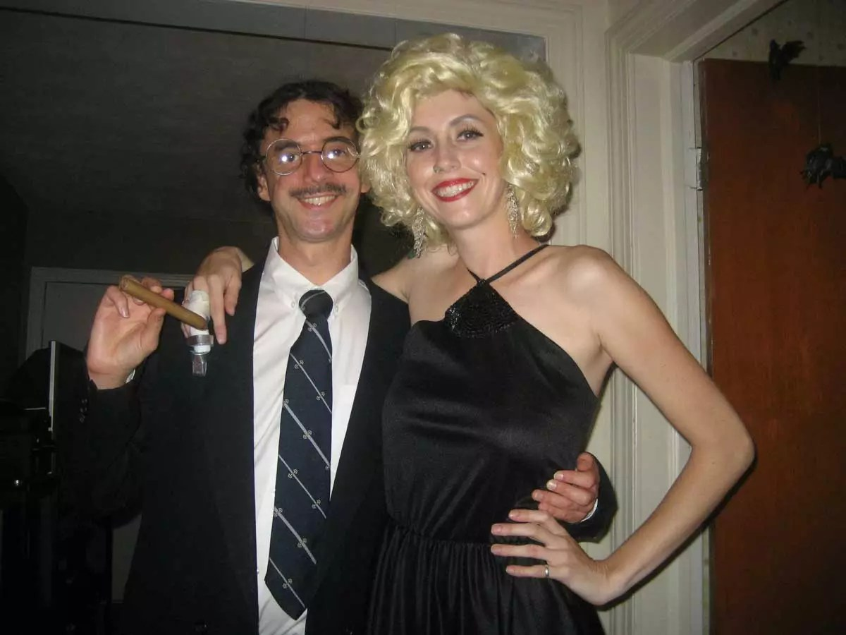 Groucho and Marilyn