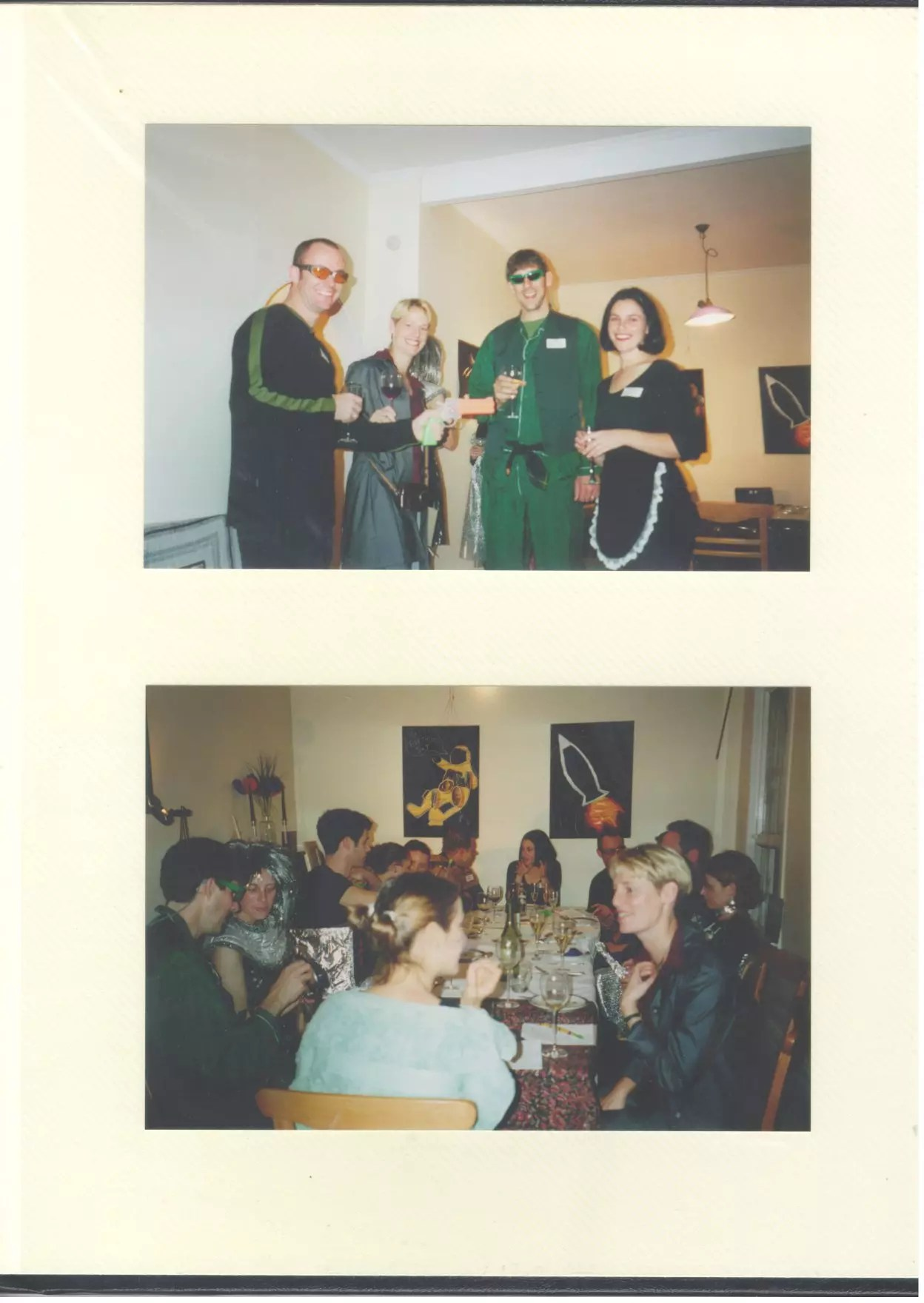 Sci-fi party photo