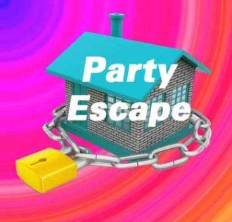 Party Escape room game invitation