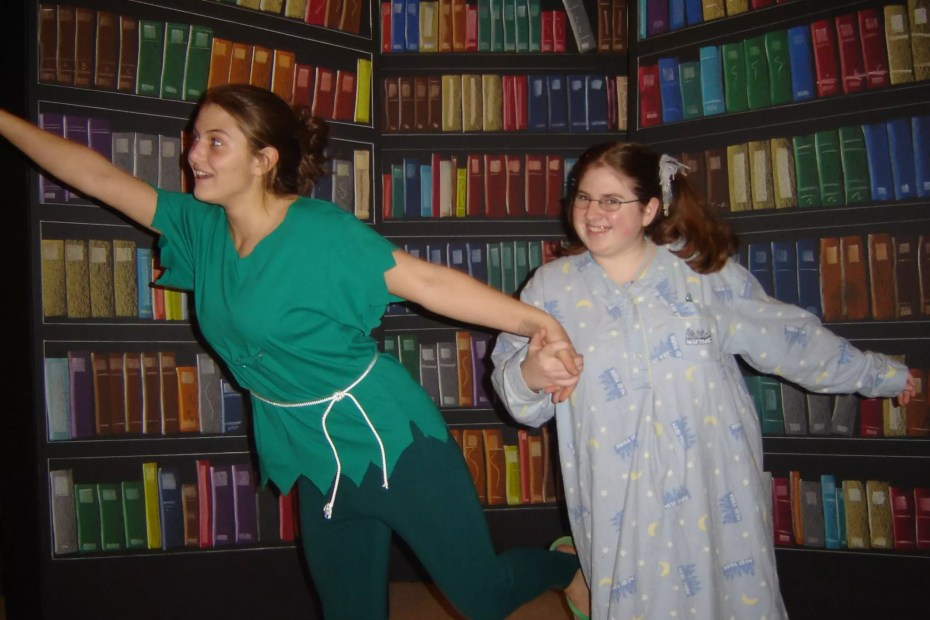 fairytale library characters