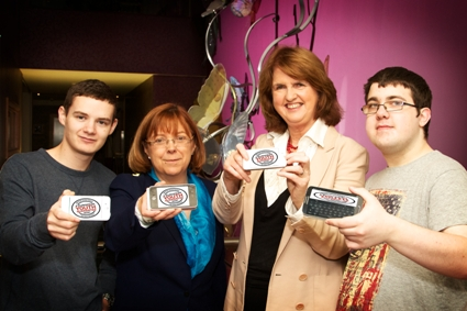 Image of Minister Burton at Youth Guarantee Conference in West Dublin
