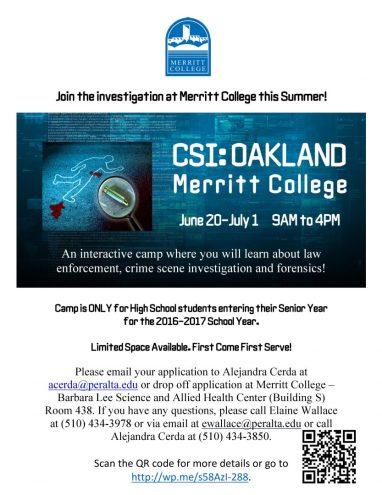 CSI Camp 5-22-16