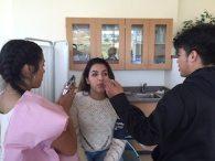 ashley tejada in class