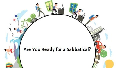 Are you ready for a sabbatical?