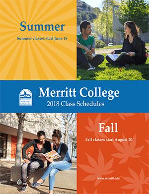 Merritt College Summer fall 2018 Schedule
