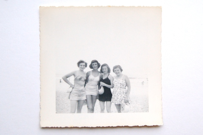 working with vintage photos on fabric | The Merriweather Council Blog