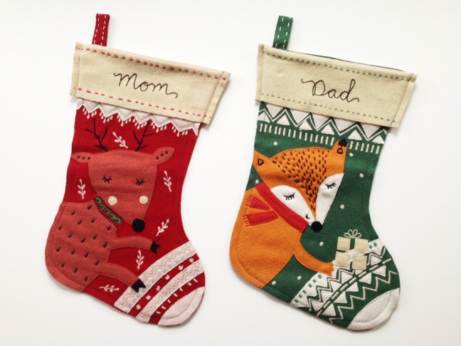 embroidered christmas stockings the merriweather council blog