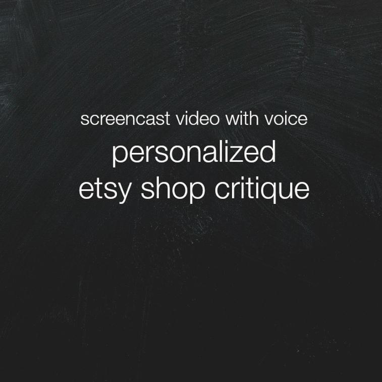screencast etsy shop critique   the merriweather council blog
