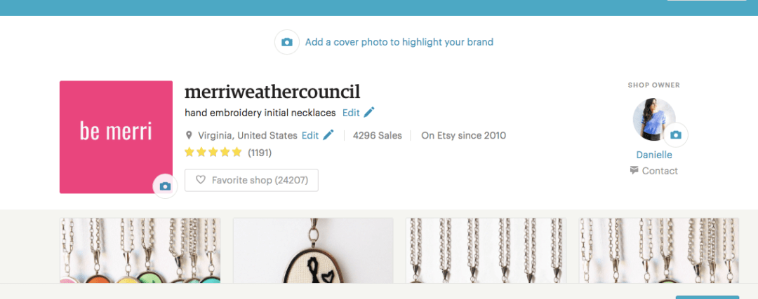 Basic Etsy SEO tips from the merriweather council. Include keywords in your shop title. | the merriweather council blog