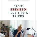 Basic Etsy SEO
