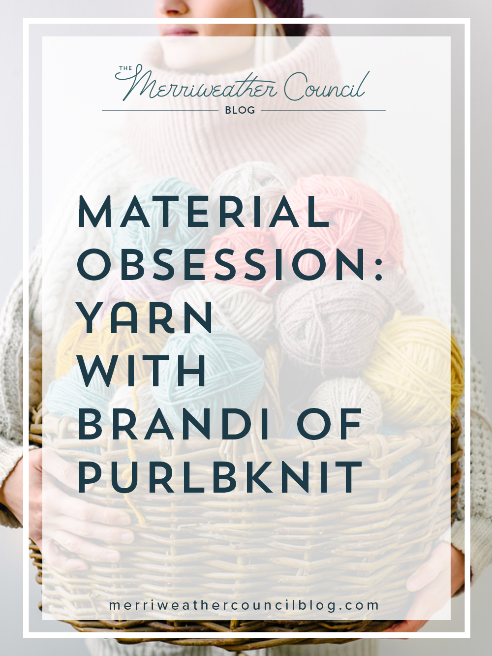 material obsession: yarn