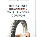 DIY Bangle Bracelet – This is How I Coupon