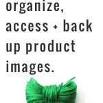 How to Organize, Access and Back Up Product Photos