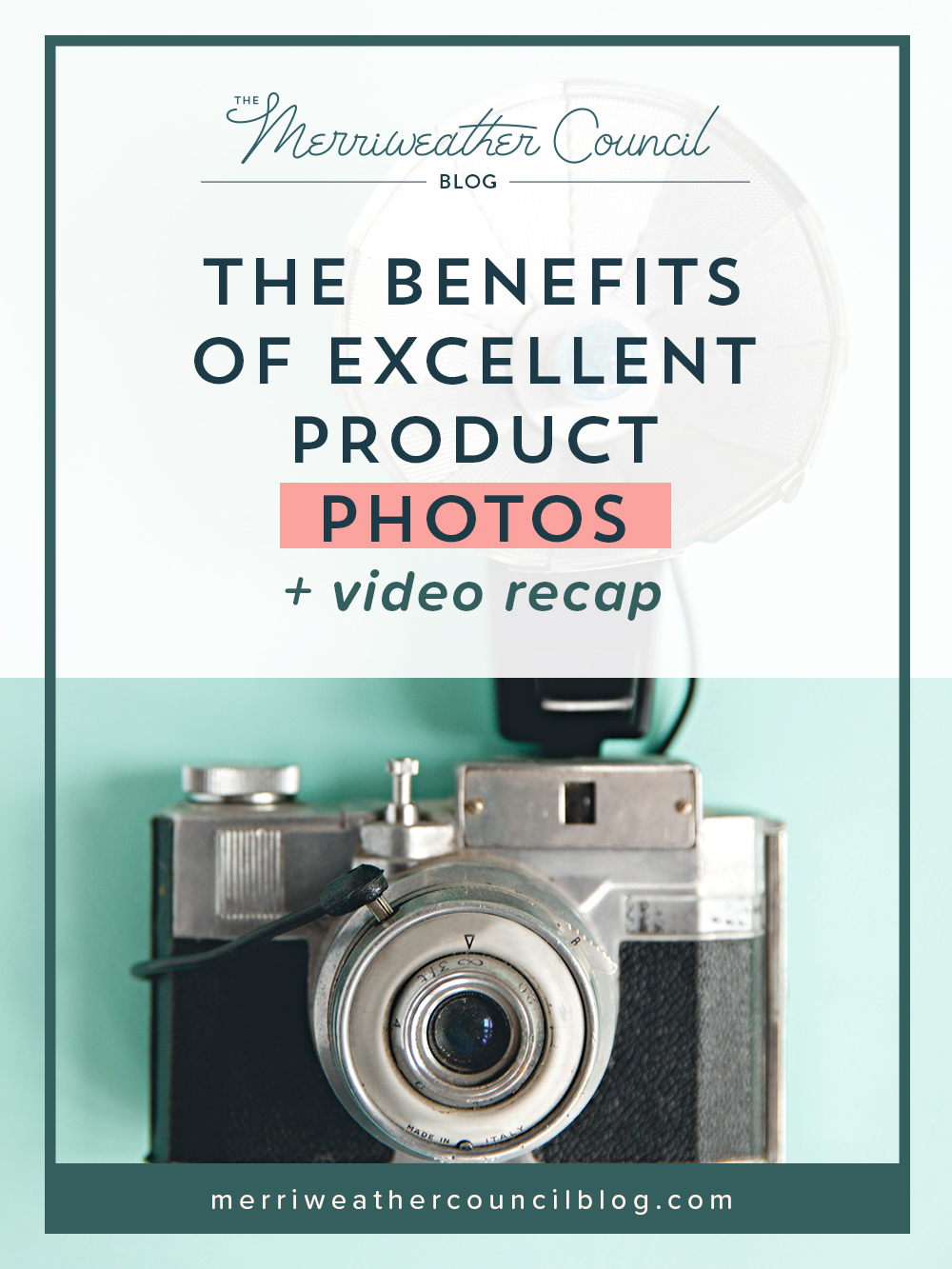 benefits excellent product photos | the merriweather council blog