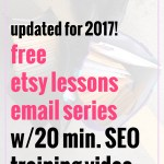 How to Optimize Your Etsy shop for Etsy Search: Basic Etsy SEO for 2017