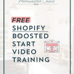 FULLY UPDATED Free Shopify Boosted Start Video Training