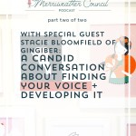 Episode 050: Finding Your Voice with Stacie Bloomfield