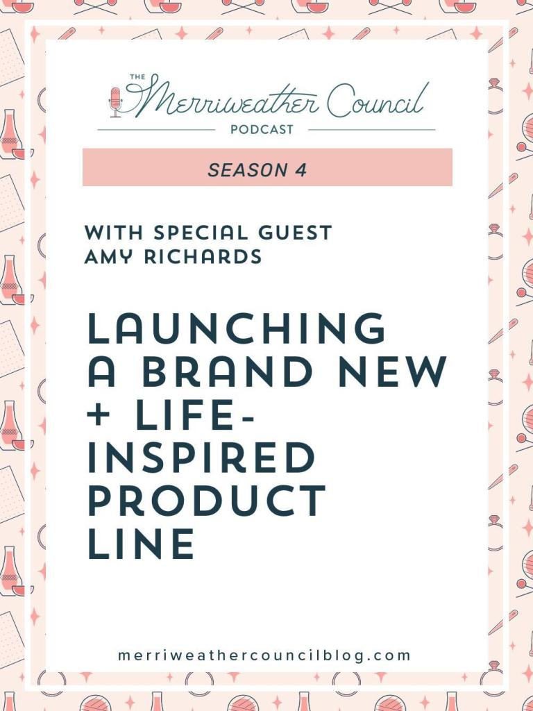 Amy's used her personal experiences to identify a gap in the market and create a new product. Listen to learn about launching a new product line.