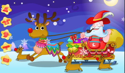 Dress Up Santa Claus Reindeer Play Christmas Games Online