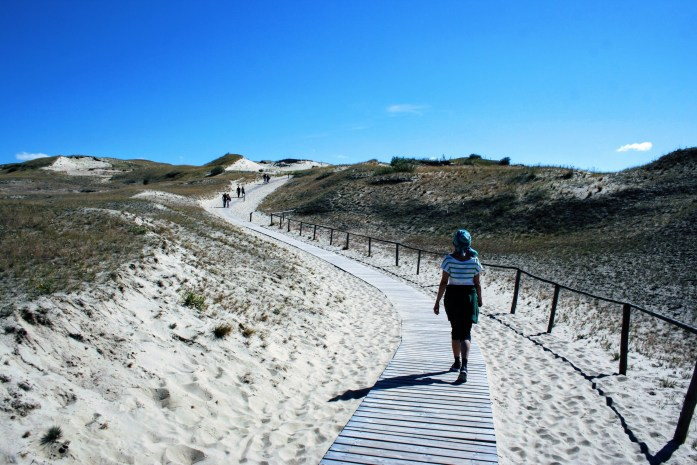 Path up the Dead Dune