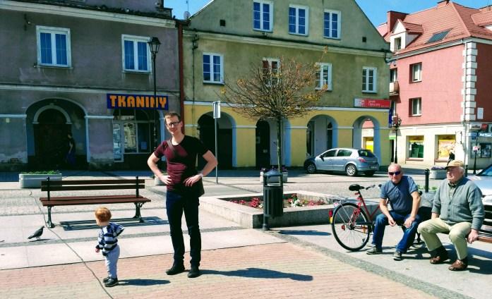 Stary Rynek, Lomza, Poland