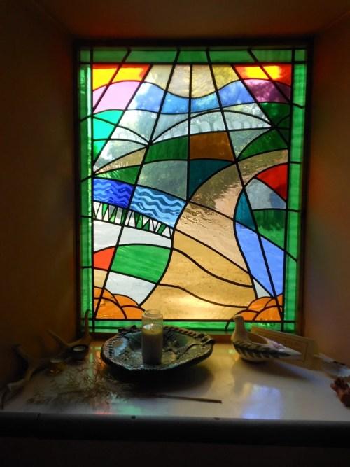 Window in The Carpenter's Chapel