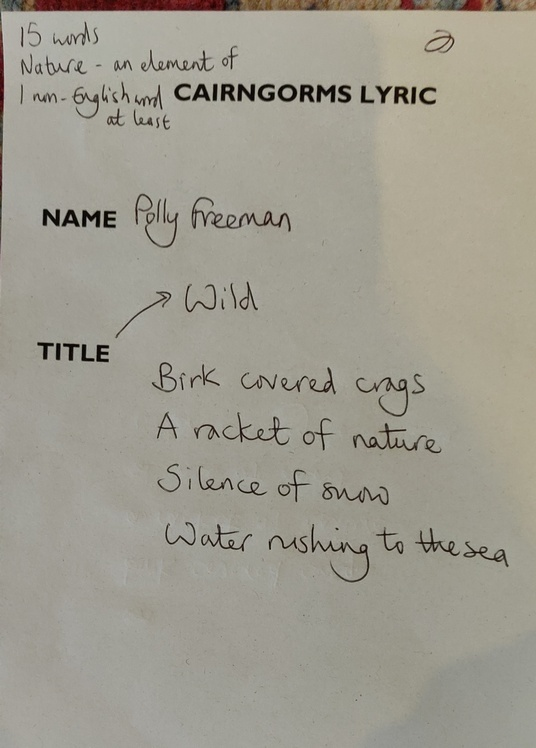 Example of a Cairngorms Lyric