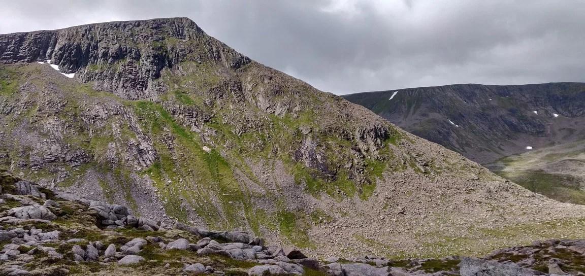 Angel's Peak north ridge