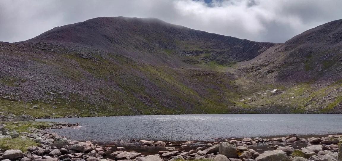 An Lochain Uaine below Cairn Toul