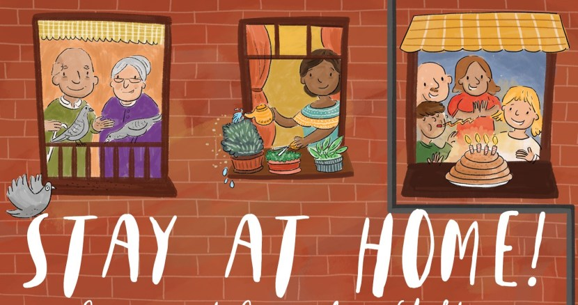 Stay at Home Ebook Cover