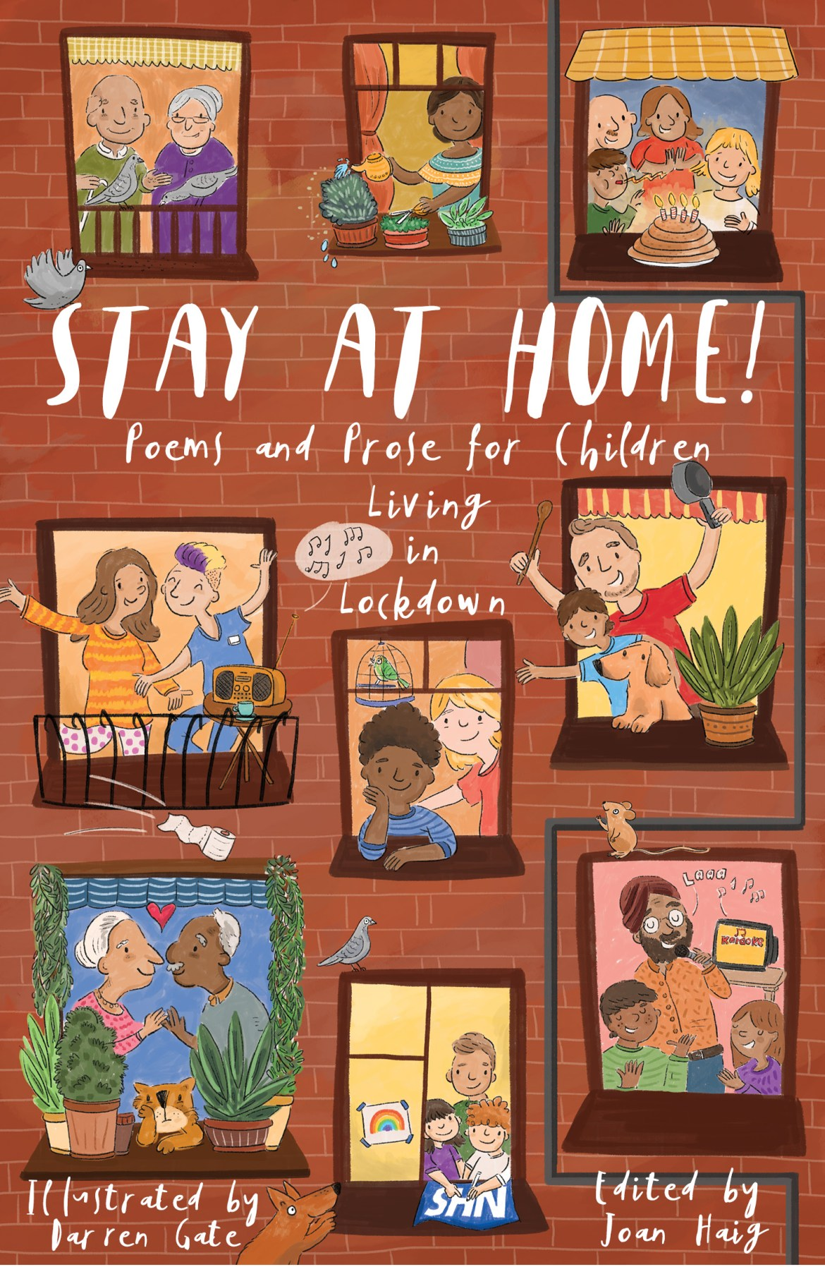 Cover of Stay at Home! anthology