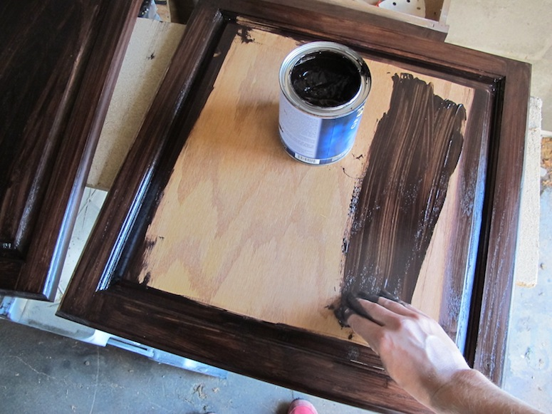 How To Refinish Oak Cabinets With Stain (the Big Reveal